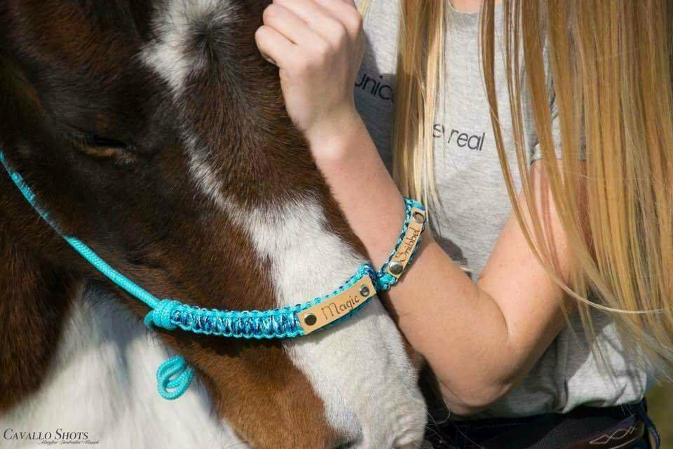 FSHA touwhalster en armband