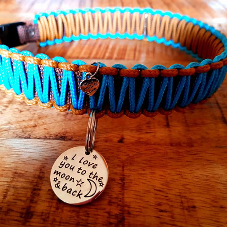 FSHA Honden halsband + penning